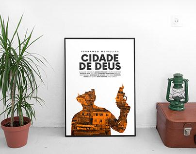 Movie Poster - Cidade de Deus