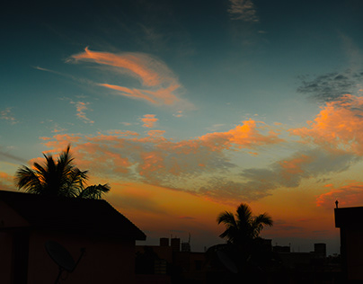 Clouds and Stars / By Sourav Mishra.
