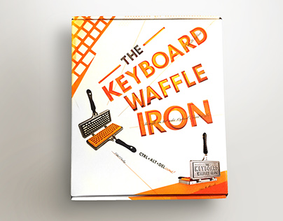 The Keyboard Waffle Iron Package Design