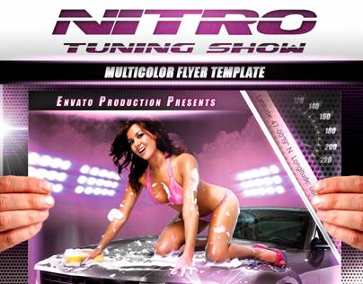 Nitro tuning show flyer