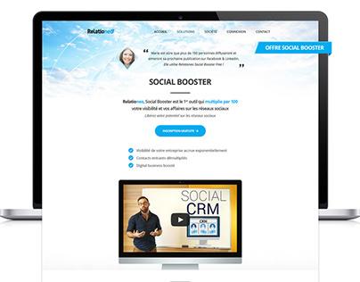 Relationeo identity + website design