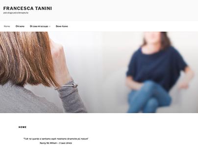 Francesca Tanini website