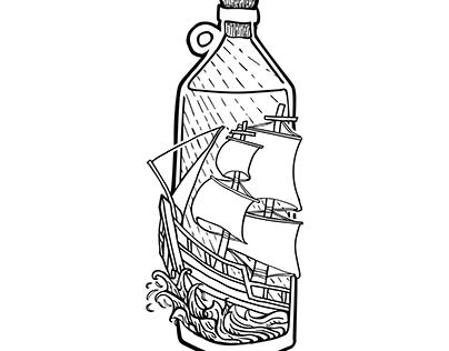 Ship in a bottle pt 2