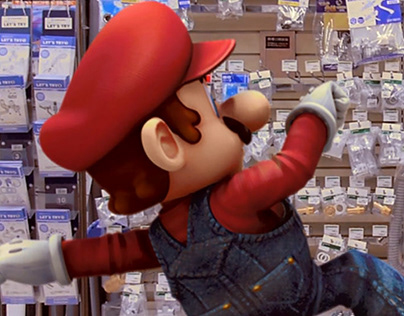 Mario Jumps Into Battle!