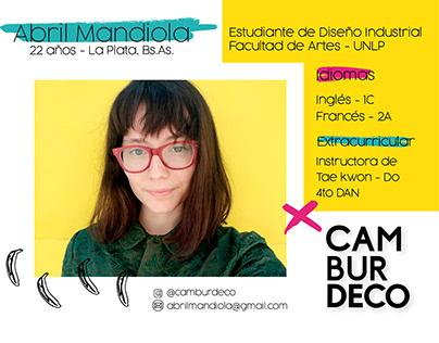 PORTFOLIO - Abril Mandiola - DI y emprendedurismo