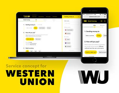 Digital service for Western Union