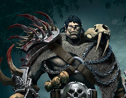 Furbog, the Orc