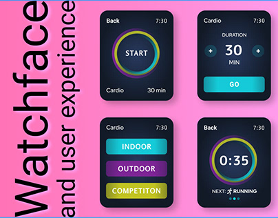 WatchFace and ux design