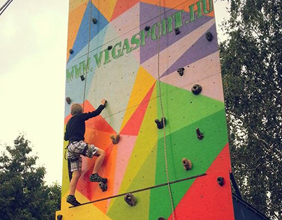 Vigasport climbing wall