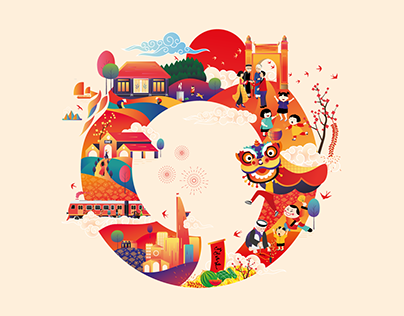 Tet A Circle Tradition Of Vietnamese Culture On Behance
