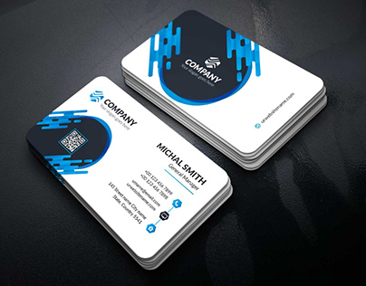 Corporate Business Card Template : 11