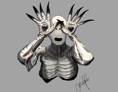 Pan's Labyrinth Monster