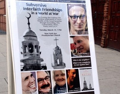 Poster: Interfaith Friendships Event