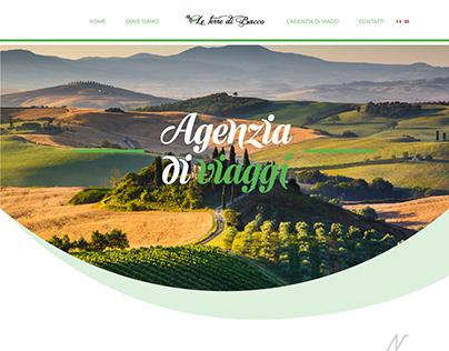 Le Terre di Bacco | Web Design - Landing Page 1st vers.