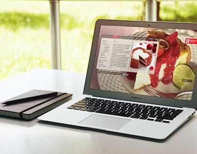 Сайт сети кафе-пекарен «Swiss-bakery»