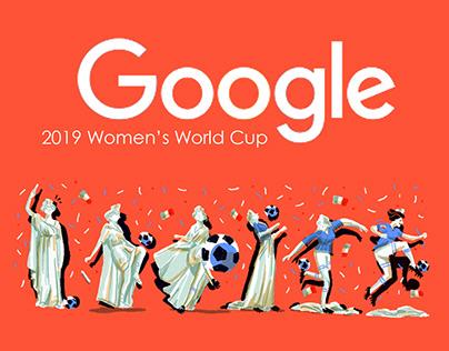 Doodle Google 2019 Women's World Cup