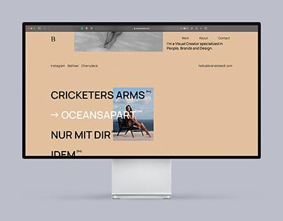 Creative Clean Portfolio Website modern & interactive