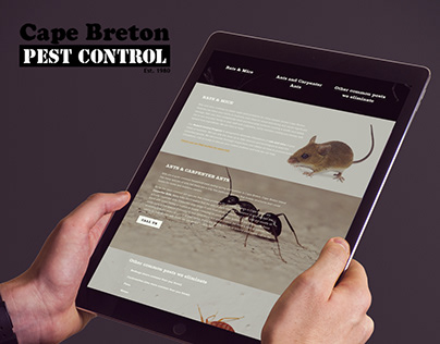 Cape Breton Pest Control Website
