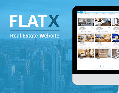 FlatX Real Estate Website