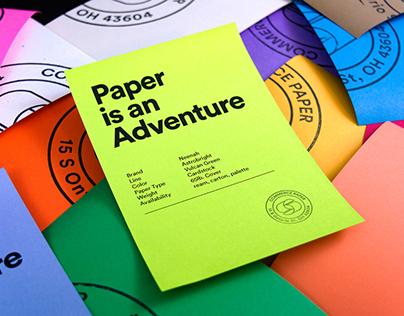 Commerce Paper Co. Branding