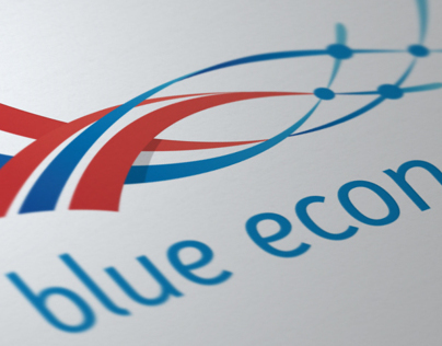 Blue Economy Logo Design