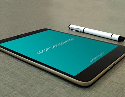 Tablet PSD Mockup