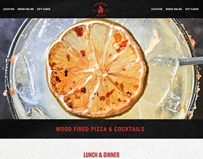 Hearth Pizza Website Design