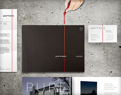 Pirnar product catalogues & visual identity