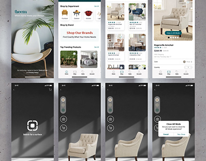 Heem Augmented Reality Mobile Furniture App