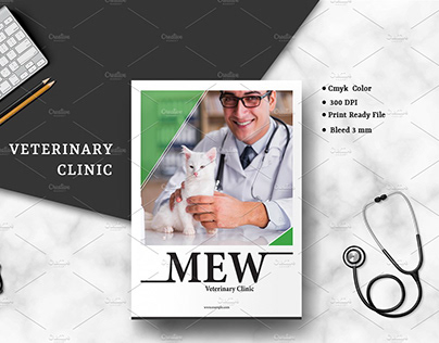 Veterinary Clinic Brochure