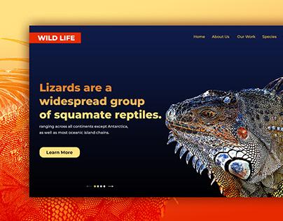Wild Life Web Template