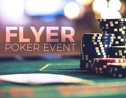 FLYER // POKER EVENT