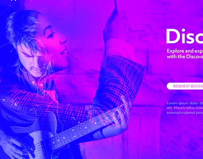 UI - Music App promo
