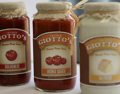 Trader Giotto's Pasta Packaging
