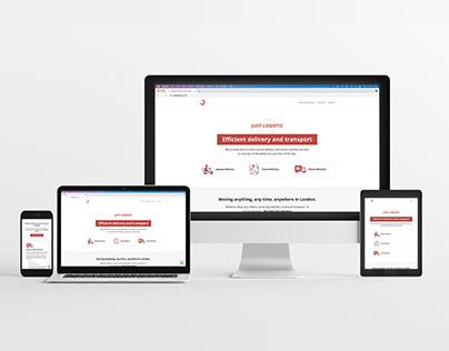 Just Logistic Website
