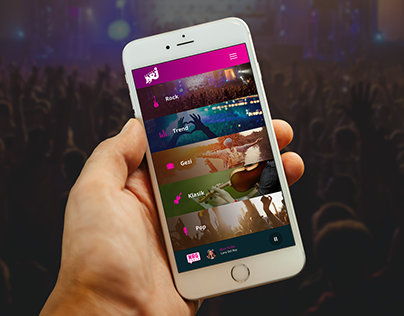 NRJ - Mobile App Design