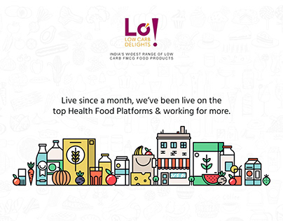 Lo! Foods Promotional Banner