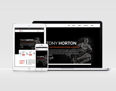 HTML Responsive Fitness Website