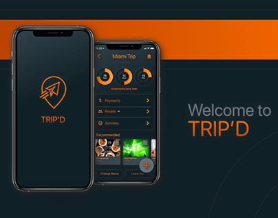 UX/UI - Trip'D