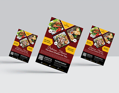 Food Menu/Restaurant Menu/Food Flyer