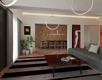 Apartment interior design
