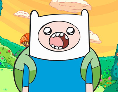 Adventure Time Blackberry Stickers