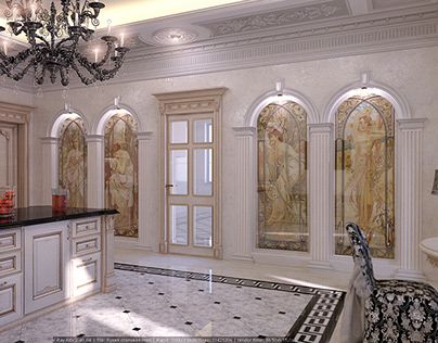 Neoclassic's interiors
