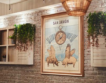 San Jamón - Brand Identity