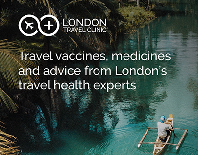 London Travel Clinic rebrand and website launch