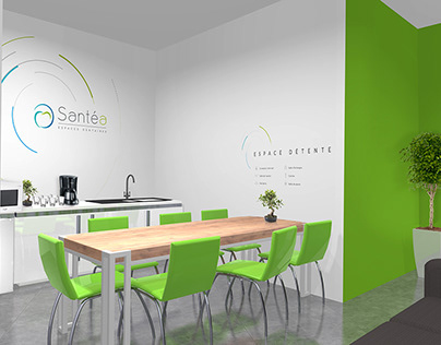 Santéa - Design d'éspace