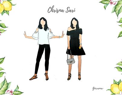 Chrisna Sari - Fashion Illustration
