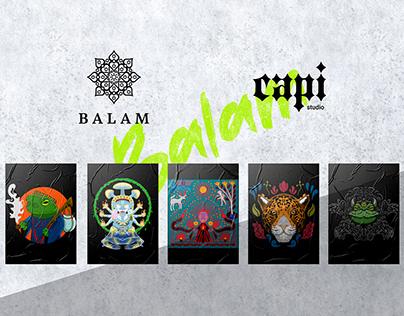 BALAM T SHIRTS