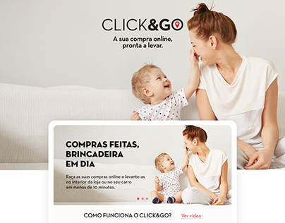 Landing Page Click&Go