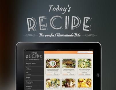 Today's Recipe